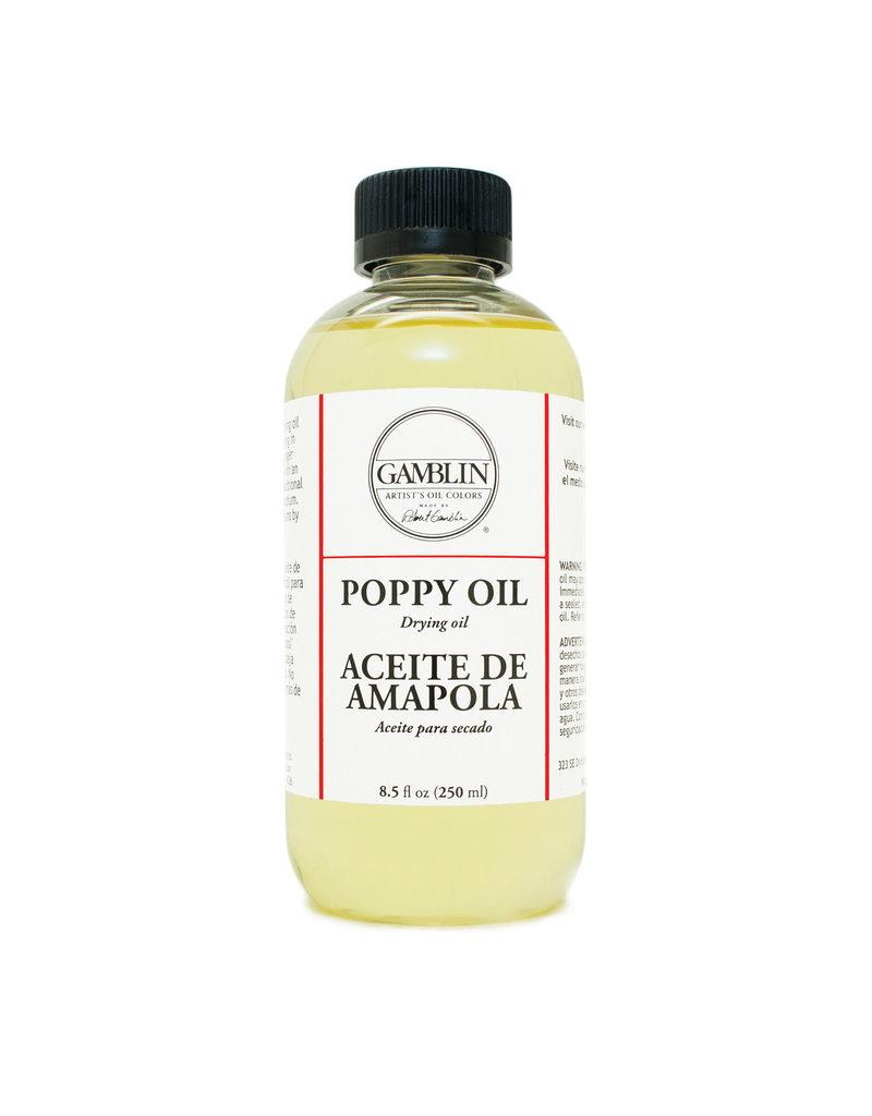 Gamblin Poppy Oil 8 Oz