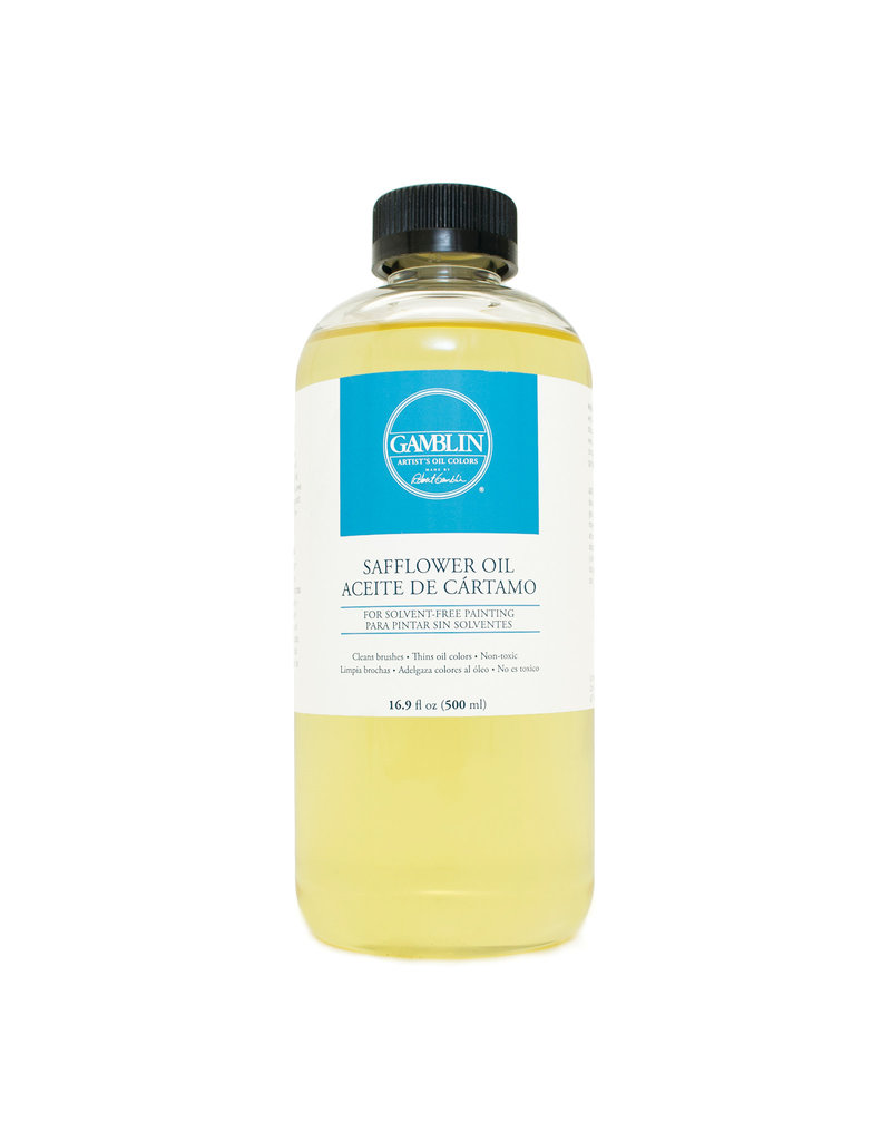 Gamblin Safflower Oil 16.9 Oz
