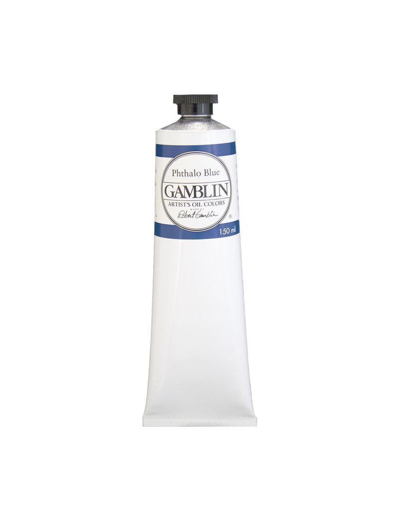 Gamblin Art Oil 150Ml Phthalo Blue