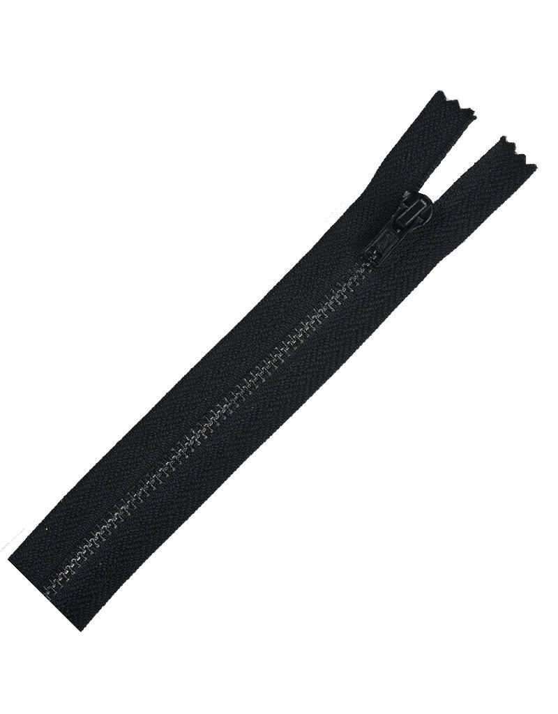 Metal All Purpose Zipper 14''Black