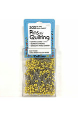 Quilters Pins 1 3/4'' Yellow 500Ct