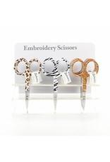 Allary Scissors Embroidery - Animal Print