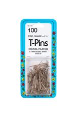 T Pins 1-1/4'' 100Ct
