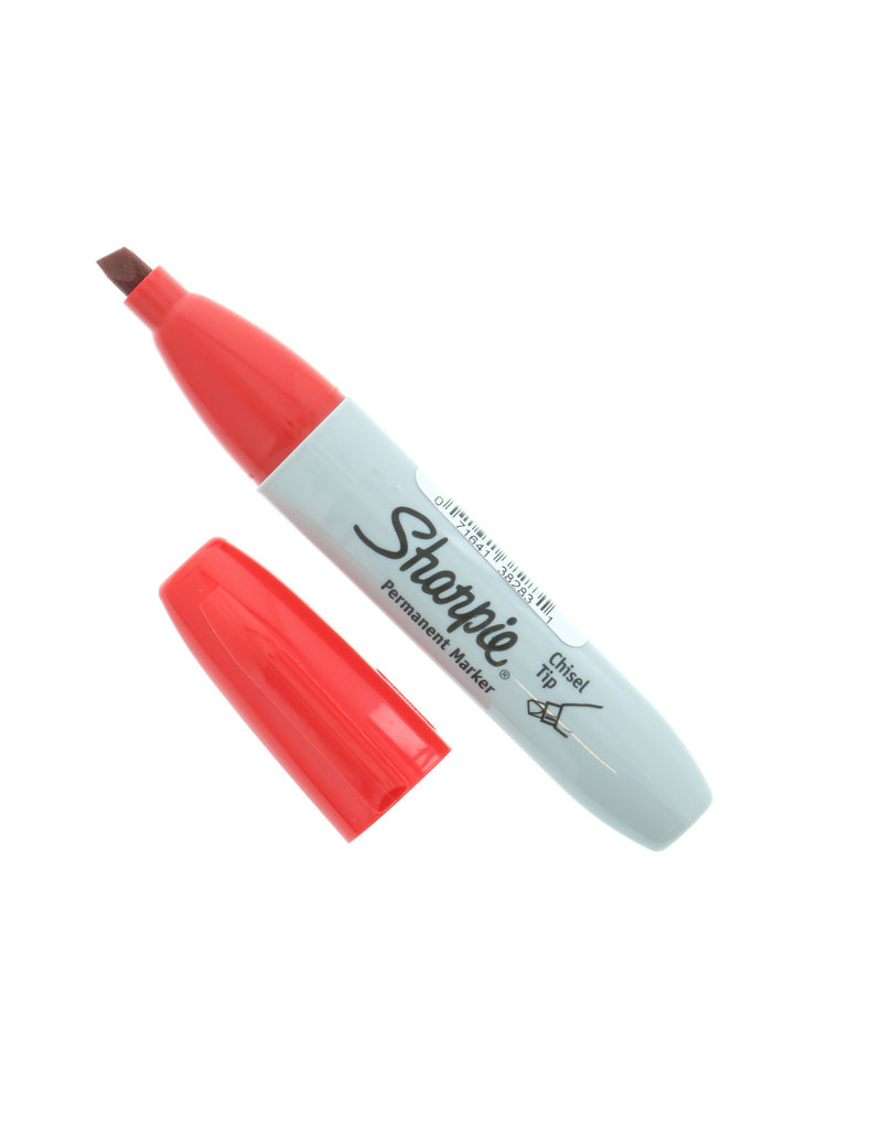 Sanford Sharpie Chisel Red