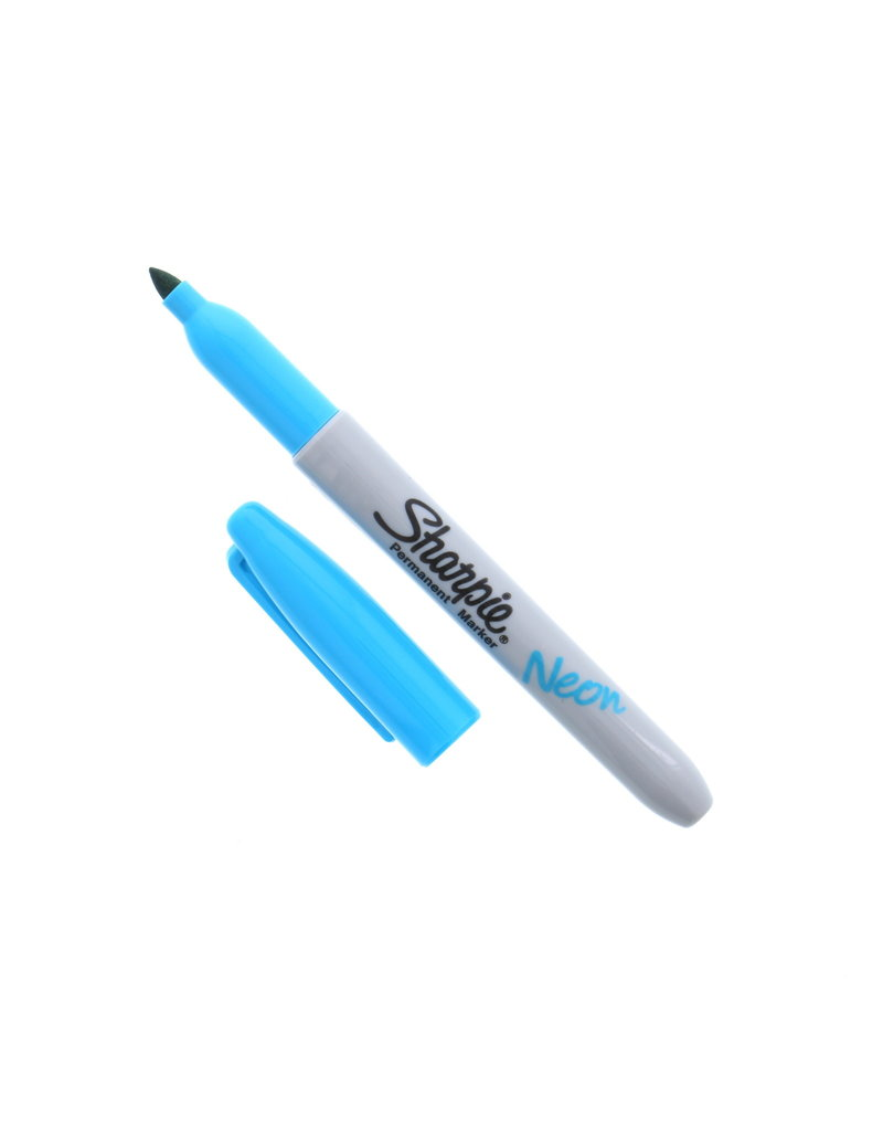 Sanford Sharpie Fine Neon Blue