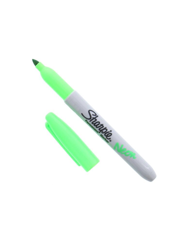 Sanford Sharpie Fine Neon Green