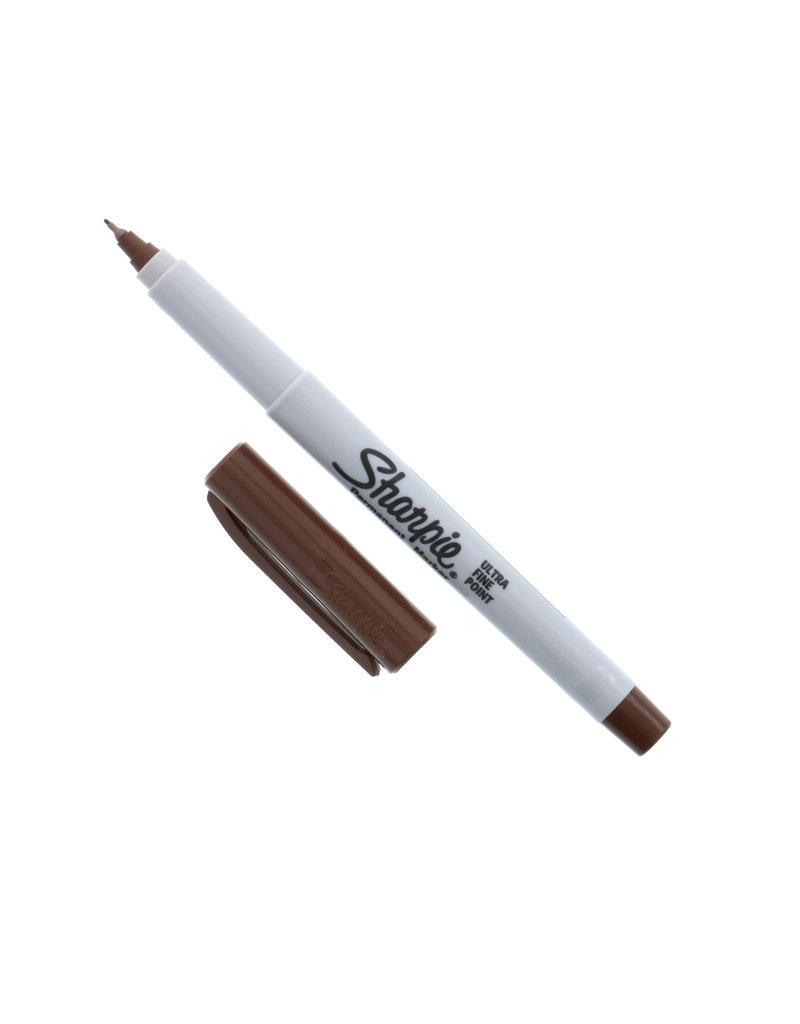 Sanford Sharpie Ultra Fine Brown