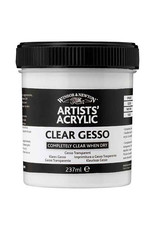 Winsor & Newton Artists' Acrylic Clear Gesso, 474ml Jar