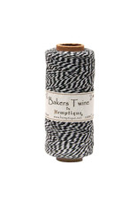 Hemptique Bakers Twine 410 Ft Black / White