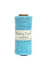 Hemptique Bakers Twine 410Ft Light Blue / White