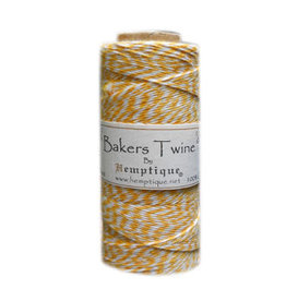 Hemptique Bakers Twine 410Ft Yellow / White