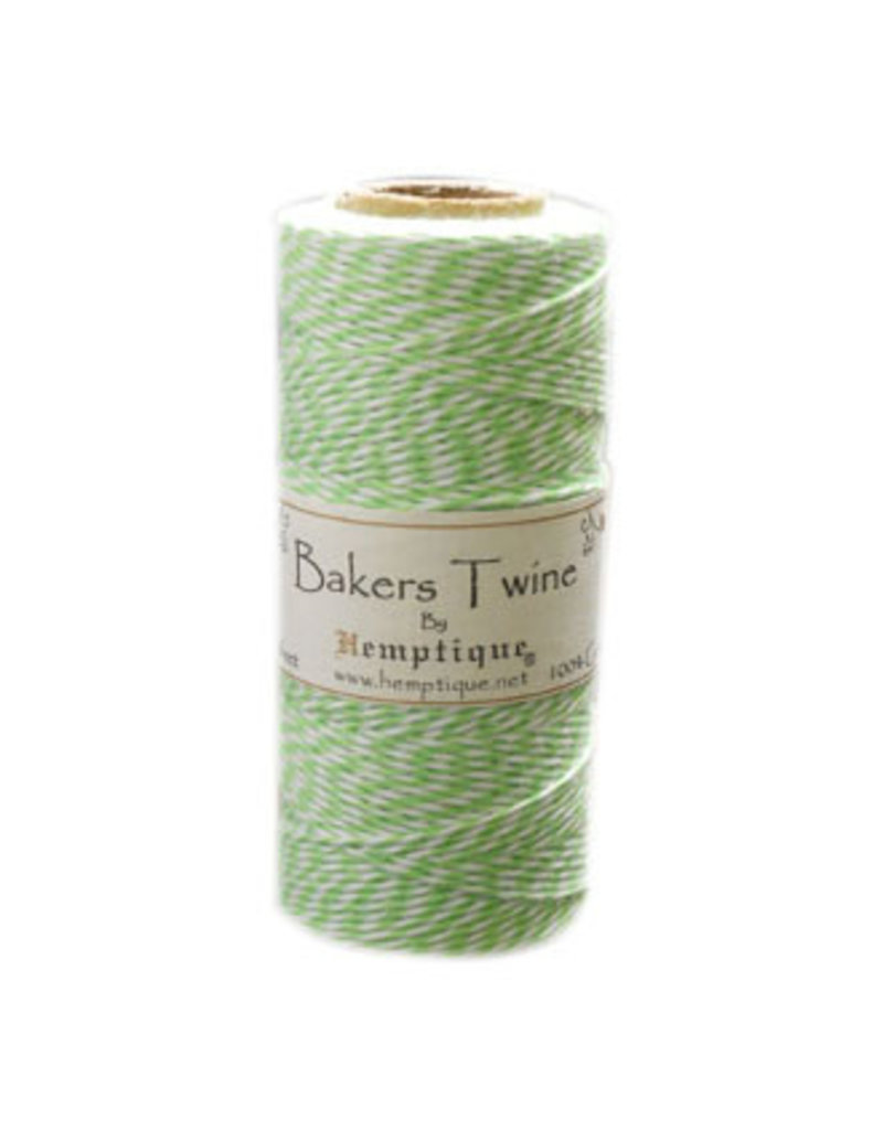 Darice Bakers Twine 410Ft Lime / White
