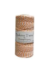 Hemptique Bakers Twine 410Ft Orange / White