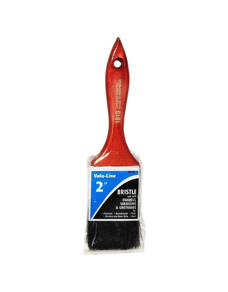 Linzer Brush Varnish & Chip Brushes, Black Bristle, 2''