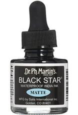Dr. PH Martin Black Star Matte Ink 1Oz