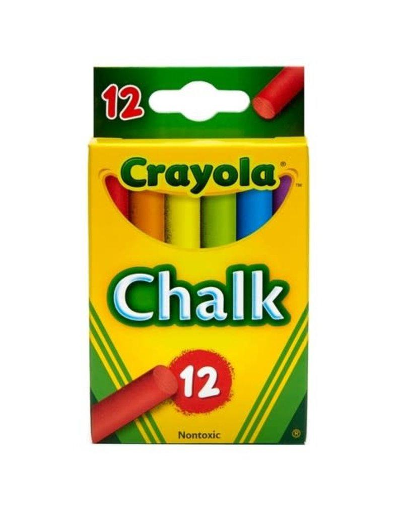 Crayola Chalk 12Ct Colored Box