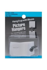 Moore Cloth Picture Hangers 6 Pack