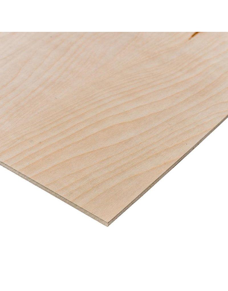 Chesapeake Plywood Plywood Sheet RC White  Birch 1/4X48X48