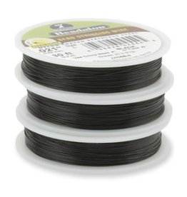 Beadalon 7 Strand Bead Stringing Wire, Black .38mm