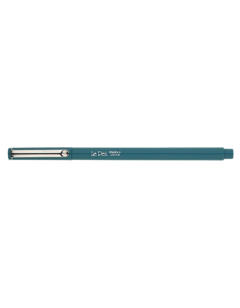 Uchida Le Pen Marker Teal .3mm