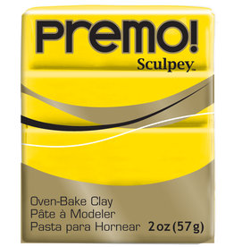 Sculpey Premo 2Oz Cadmium Yellow