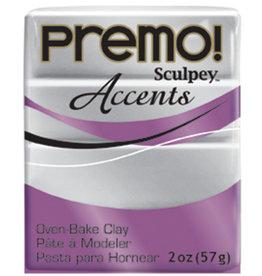 Sculpey Premo 2Oz Silver
