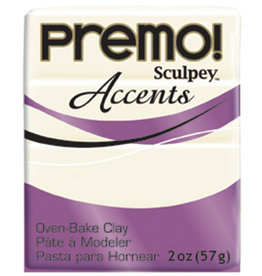 Sculpey Premo 2Oz White Translucent