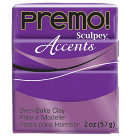 Sculpey Premo 2Oz Purple Pearl