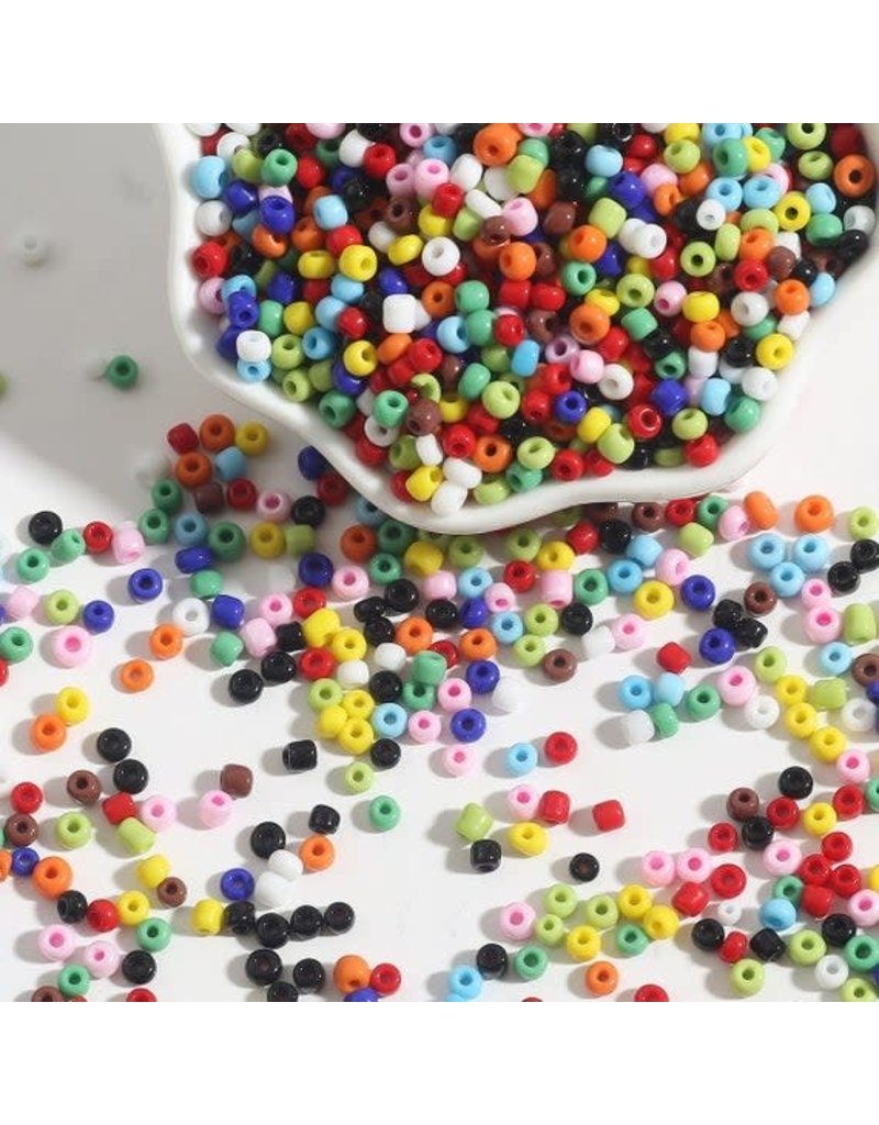 MICA Store Seed Bead Assortment 2mm 12/0 1.5oz