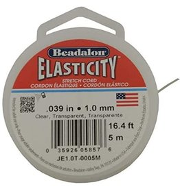 Beadalon Elasticity 1Mm Clr 16.4Ft