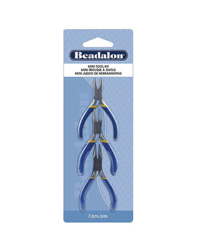 Beadalon Mini Tool Kit 3Pc