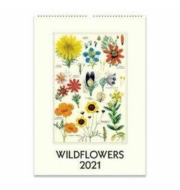 Cavallini Wall Calendar 2021 Wildflowers