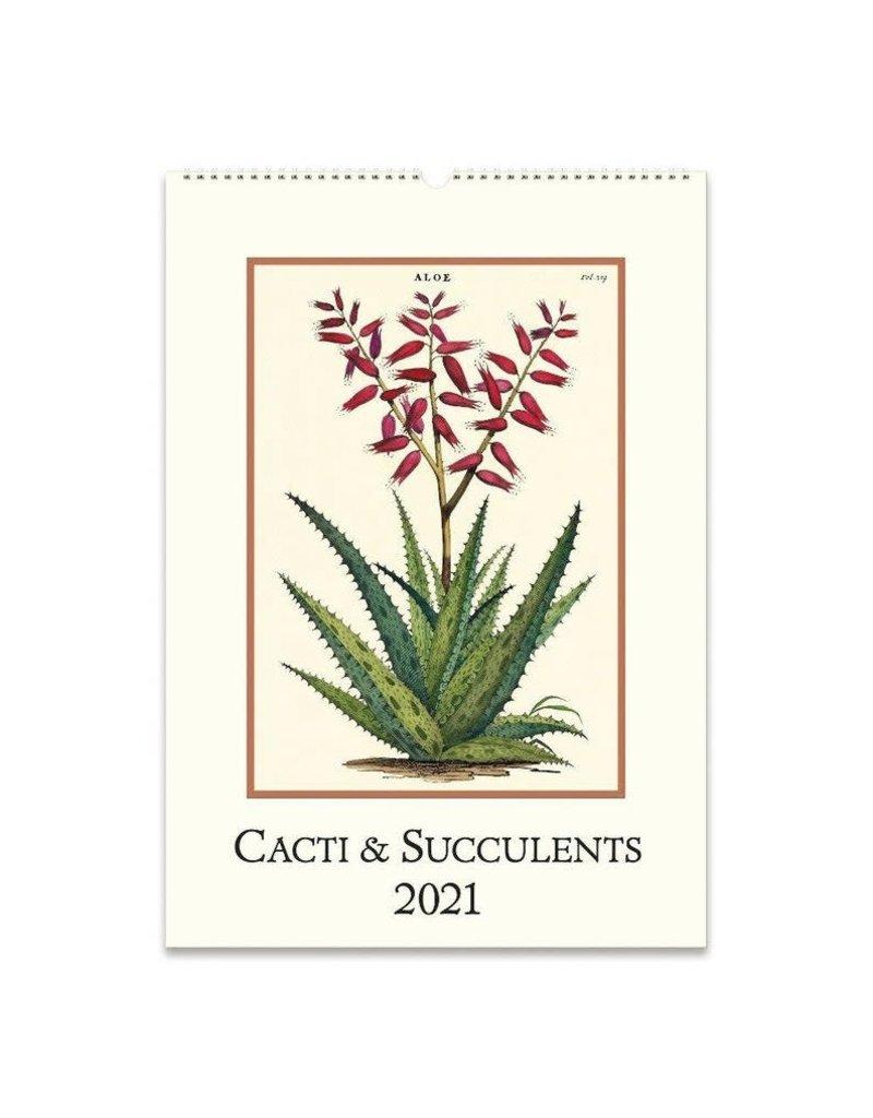 Cavallini Wall Calendar 2021 Succulents