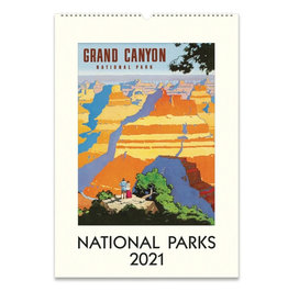 Cavallini Wall Calendar 2021 National Parks