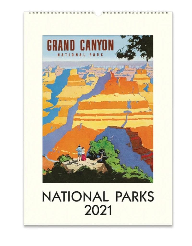 Cavallini Wall Calendar 2021 National Parks