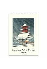 Cavallini Wall Calendar 2021 Japanese Woodblock