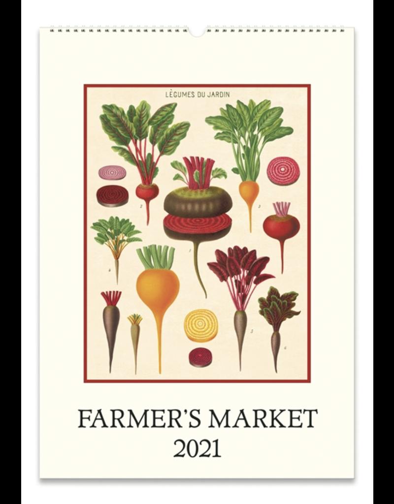 Cavallini Wall Calendar 2021 Farmers Market