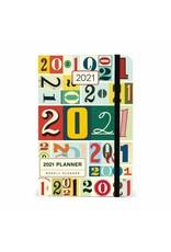 Cavallini 2021 Planner Vintage Numbers