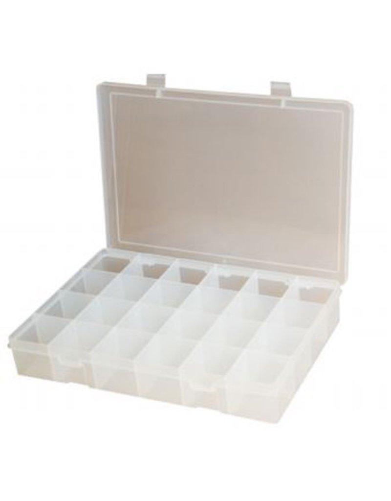 MICA Store Plastic Case 24 mini Compartments