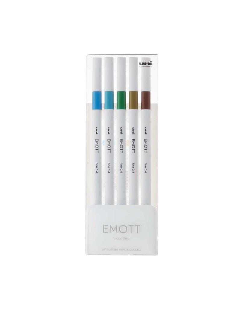 Emott EMOTT Fineliner Pen Sets, 5-Pen Set #4