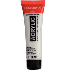 Royal Talens Amsterdam Acrylics 20Ml Tit Wht