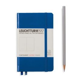 Leuchtturm *40% Off* Royal Blue, Pocket, Dotted