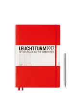 Leuchtturm *40% Off* Red, Master Classic 233 P., Ruled