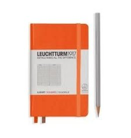 Leuchtturm *40% Off* Orange, Pocket, Squared