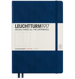 Leuchtturm *40% Off* Navy, Pocket, Dotted
