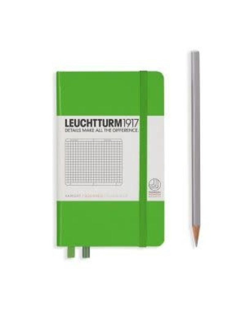 Leuchtturm *40% Off* Fresh Green, Pocket, Squared