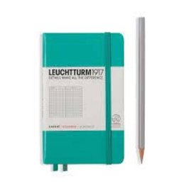 Leuchtturm *40% Off* Emerald, Pocket, Squared