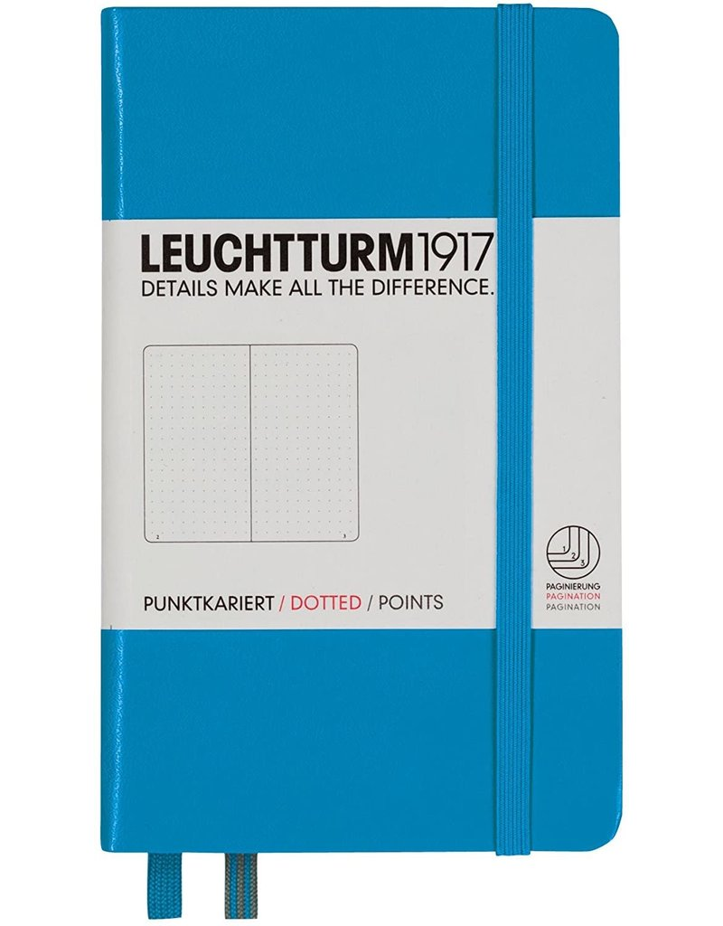 Leuchtturm *40% Off* Azur, Pocket, Dotted