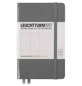 Leuchtturm *40% Off* Anthracite, Pocket, Dotted