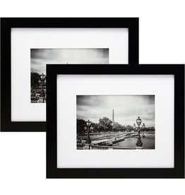 """Darice Black, Picture Frame, 8""""x10"""" Matted to 5""""x7"""""""